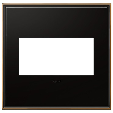 Cast Metal Wall Plate by Legrand | AWC2GOB4