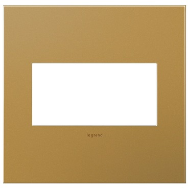 Satin Bronze Wall Plate by Legrand | AWC2GSB4