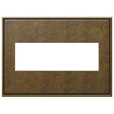 Cast Metal Wall Plate by Legrand   AWC3GAB4