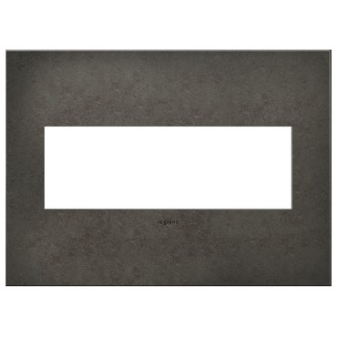 Dark Burnished Pewter Wall Plate