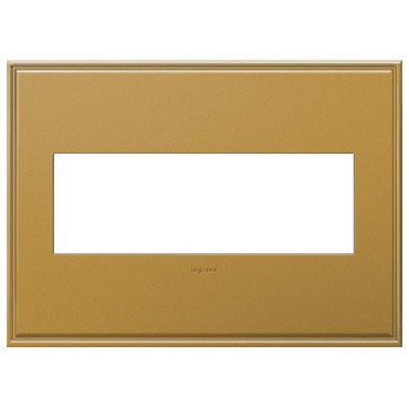 Cast Metal Wall Plate by Legrand | AWC3GNB4