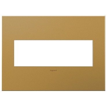 Cast Metal Wall Plate by Legrand | AWC3GSB4