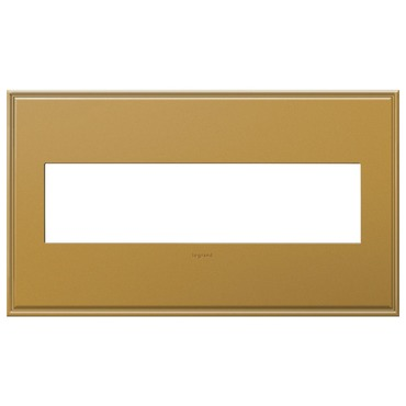 Cast Metal Wall Plate by Legrand | AWC4GNB4