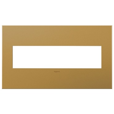 Satin Bronze Wall Plate by Legrand | AWC4GSB4