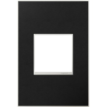 Black Leather Wall Plate