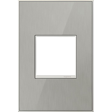 Brushed Stainless Wall Plate