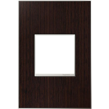 Wenge Wall Plate by Legrand | AWM1G2WE4