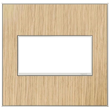 Adorne Real Material Screwless Wall Plate by Legrand | AWM2GFH4