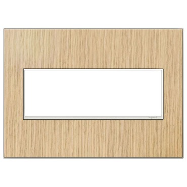 Adorne Real Material Screwless Wall Plate by Legrand | AWM3GFH4