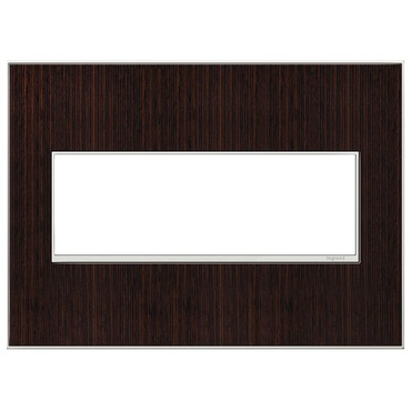 Adorne Real Material Screwless Wall Plate by Legrand | AWM3GWE4