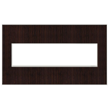 Adorne Real Material Screwless Wall Plate by Legrand | AWM4GWE4