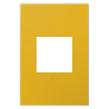 Adorne Plastic Screwless Wall Plate by Legrand   AWP1G2HY6