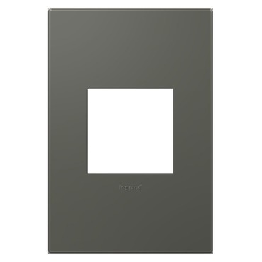Moss Grey Soft Touch Wall Plate by Legrand | AWP1G2MO6