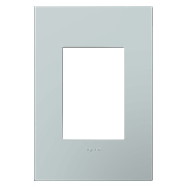Pale Blue 1-Gang 3-Module Wall Plate