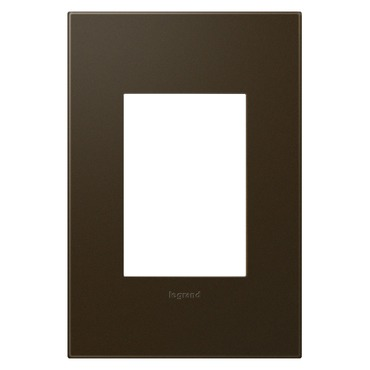 Plastic 1-Gang 3-Module Wall Plate by Legrand | AWP1G3BR4