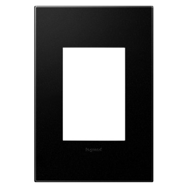 Graphite 1-Gang 3-Module Wall Plate