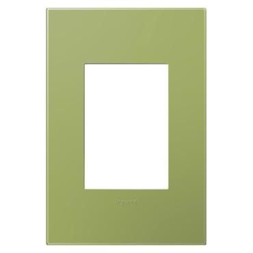 Plastic 1-Gang 3-Module Wall Plate by Legrand | AWP1G3LG4