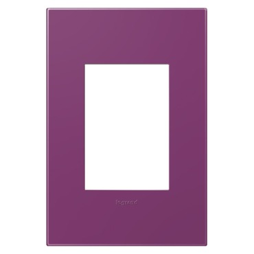 Plum 1-Gang 3-Module Wall Plate by Legrand | AWP1G3PL4