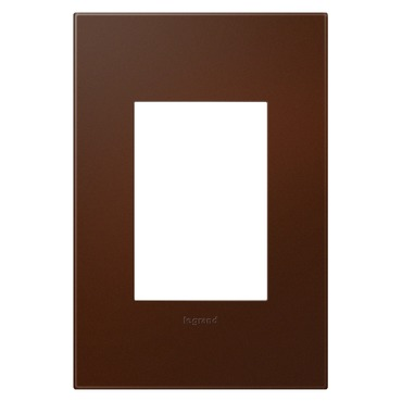 Russet Soft Touch 1-Gang 3-Module Wall Plate