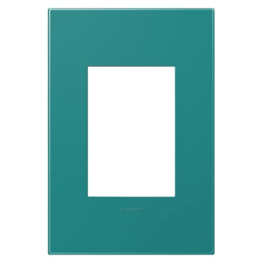 Turquoise 1-Gang 3-Module Wall Plate