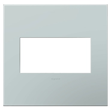 Pale Blue Wall Plate by Legrand | AWP2GBL4