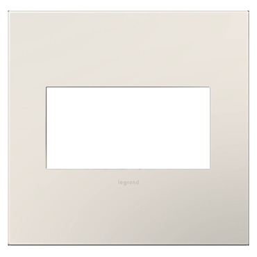 Adorne Plastic Screwless Wall Plate by Legrand | AWP2GLA4