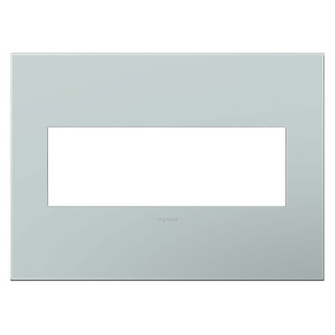 Pale Blue Wall Plate by Legrand | AWP3GBL4