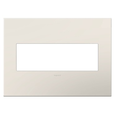 Satin Light Almond Wall Plate by Legrand | AWP3GLA4
