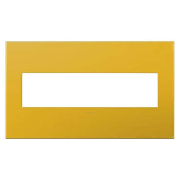 Adorne Plastic Screwless Wall Plate by Legrand | AWP4GHY4