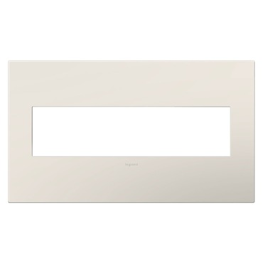 Adorne Plastic Screwless Wall Plate by Legrand | AWP4GLA4