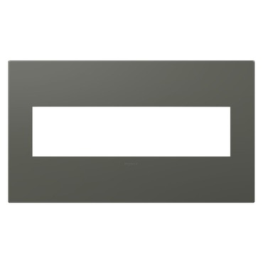 Adorne Plastic Screwless Wall Plate by Legrand | AWP4GMO4