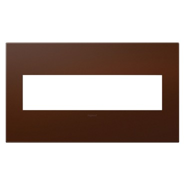 Russet Soft Touch Wall Plate by Legrand | AWP4GRS4