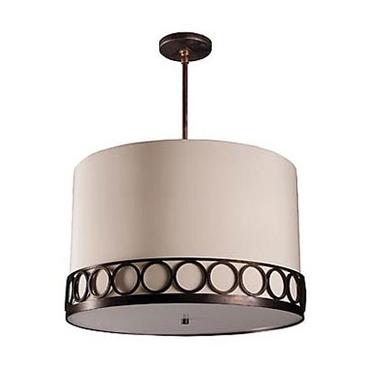 Astoria Round Pendant by Stonegate Designs | LP10393-057-317NAT