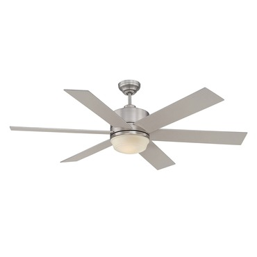 Velocity Ceiling Fan by Savoy House | 60-820-6SV-SN