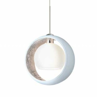 XP Pogo Pendant by Besa Lighting | XP-4293SF-SN