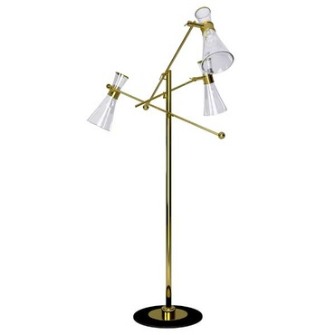 Mitte 3-Light Floor Lamp