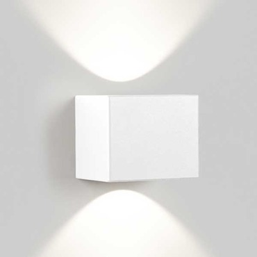 Tiga LED Wall Sconce Wide/Wide by DeltaLight | 6 223 751 8102 W