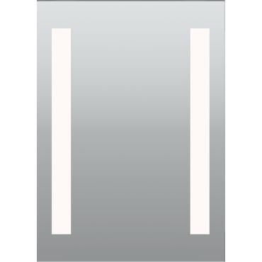 Twin Slim Surface Mount LED Mirror by PureEdge Lighting | TWINSLIM-20-LED-27K