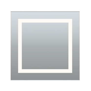 Plaza Small LED Mirror by PureEdge Lighting | PLAZA-S-LED-27K
