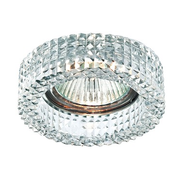 Crystal Diamond Round 3.25 Inch Trim by Eurofase | 23940-11
