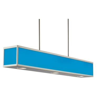 Chameleon Color Changing Linear Box Pendant by Hart Lighting | HL-1097