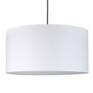 Meridian Double Pendant by Lights Up | RS-9202BN-WHT