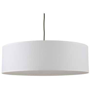 Meridian Jumbo Pendant by Lights Up | RS-9230BN-WHT