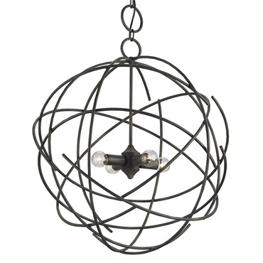 Belfry Chandelier by Currey and Company | 9471-CC