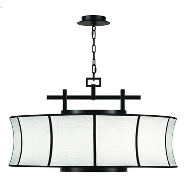 Black and White Story 233540 Pendant by Fine Art Lamps | 233540-6