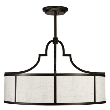 Black and White Story Pendant by Fine Art Lamps | 601840-6