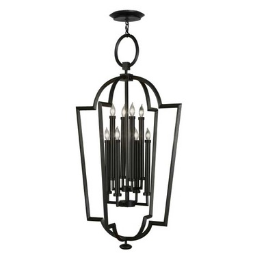Black and White Story 780440 Lantern by Fine Art Lamps | 780440-6