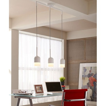 Mezzo Linear Pendant by LBL Lighting | SU7723OPGY2D