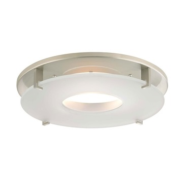Turno Ceiling Flush Mount Trim Cover w/Downlight Opening by Recesso Lights | 10853-09