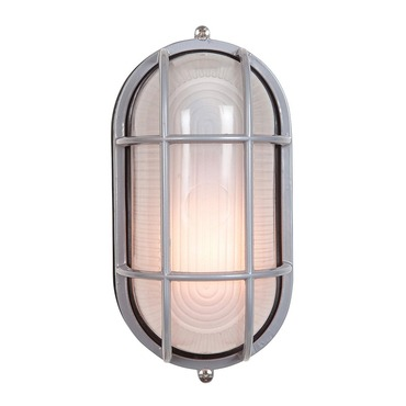 Nauticus Oval Cage Outdoor Wall Sconce